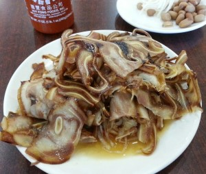 Thin Sliced Spicy Pig Ears.