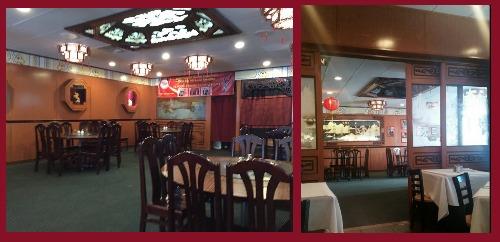 Hunan restaurant inside